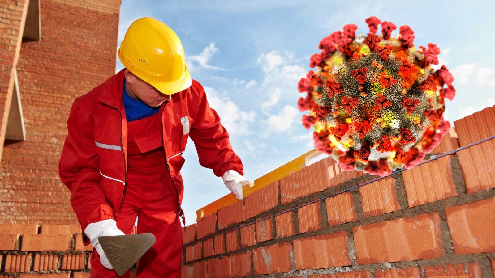 koronavírus hatása az építőiparra