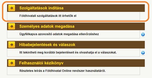 Földhivatal online - szolgáltatások elindítása
